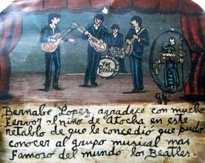 Retablo por los Beatles